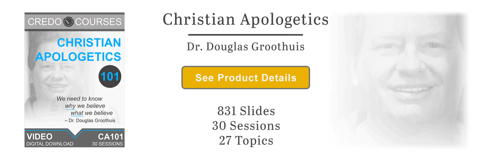 Christian Apologetics by Douglas Groothuis