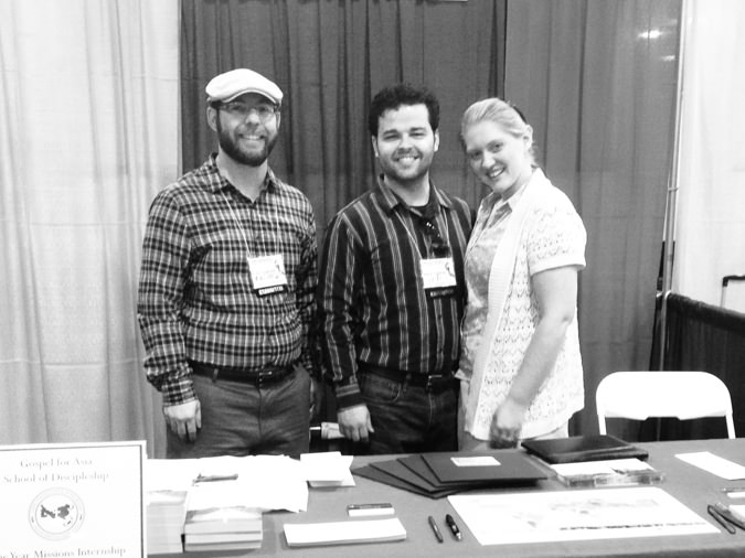 Volunteering at the OKC Homeschool Convention