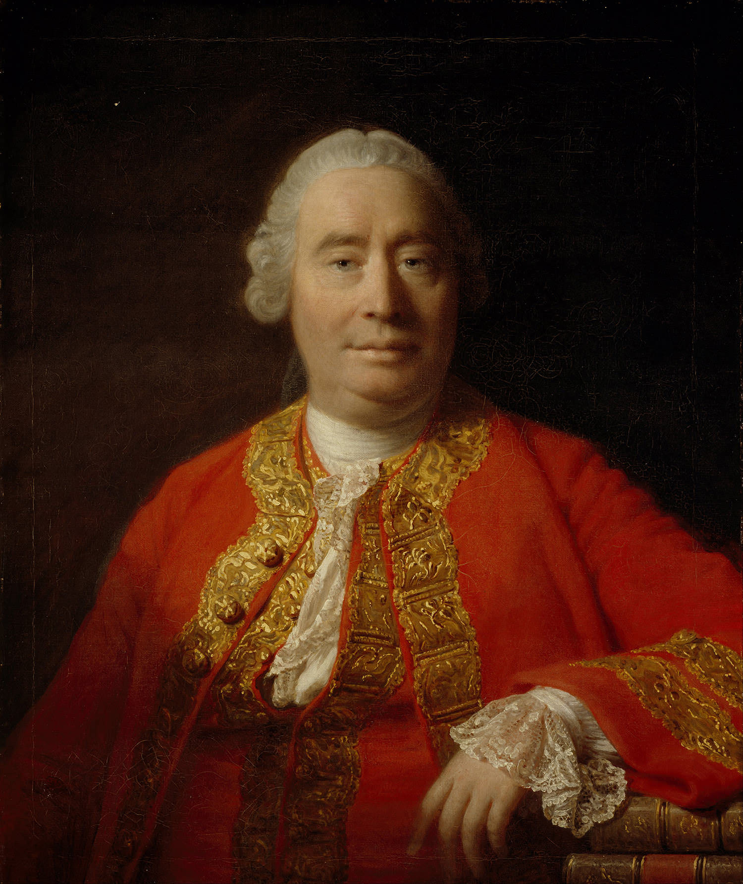Portrait of David Hume by Allan Ramsay