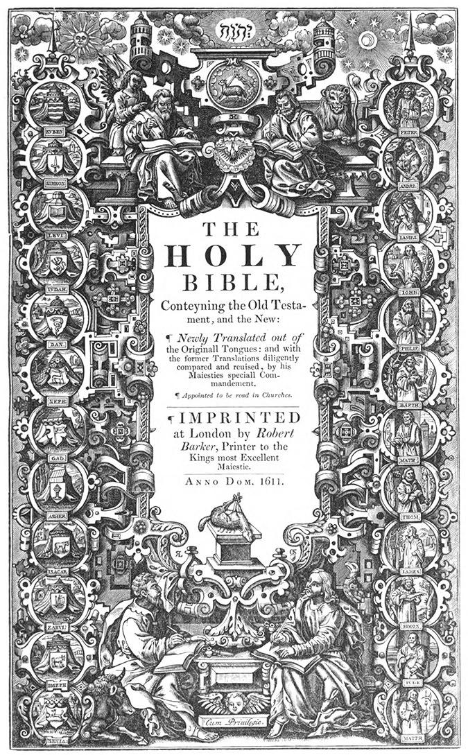 1611 King James Bible Artwork