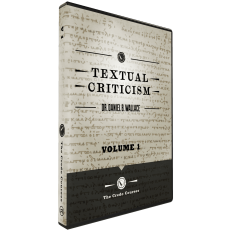 Textual Criticism DVD Vol 1