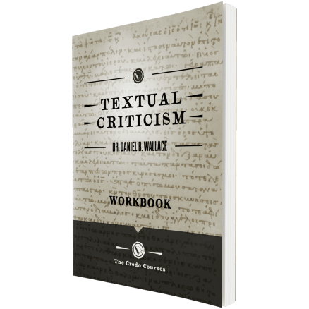 Textual Criticism Workbook